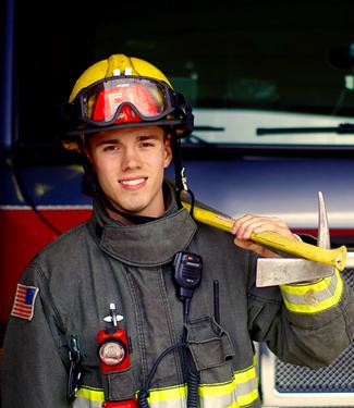 Chandler Van Amen, Resident Firefighter