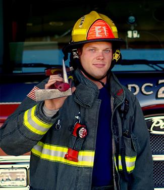 Cole Clark, Resident Firefighter